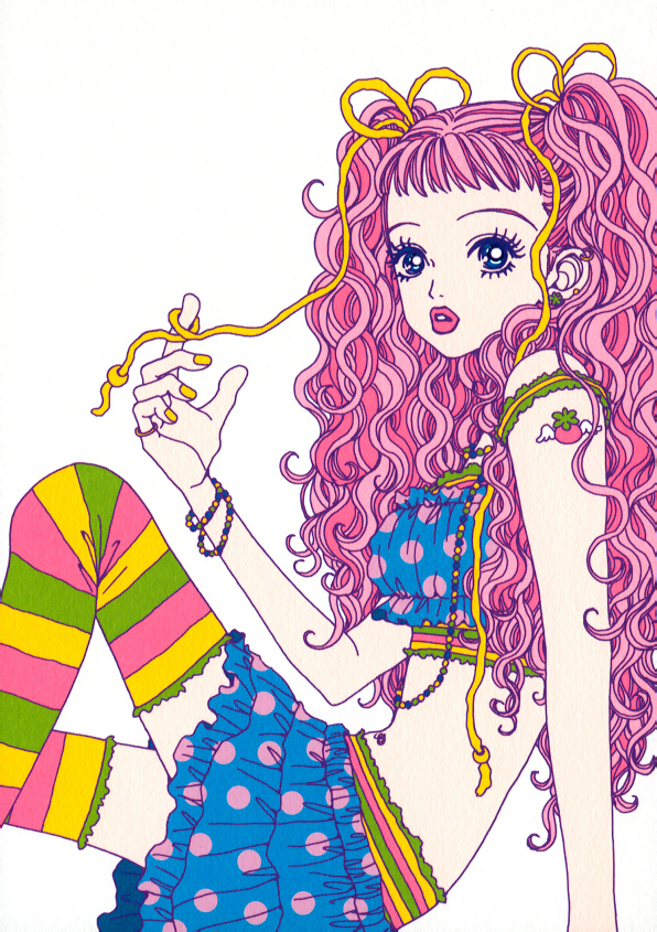 Miwako from Paradise Kiss